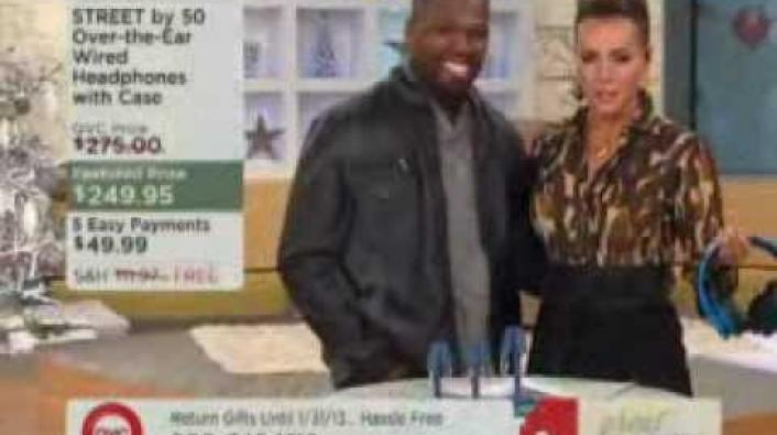 50 Cent's Headphones Make $177k In Under 10 Minutes On QVC