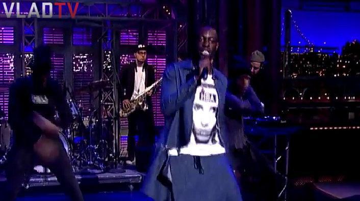 First Openly Gay Rapper Makes History Performing On Letterman