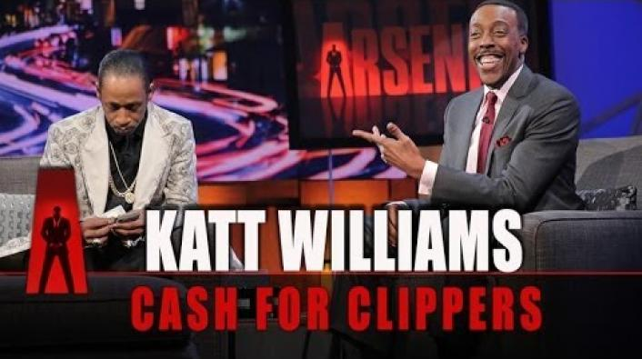 Katt Williams Drops a Stack For Arsenio Hall to Buy Clippers