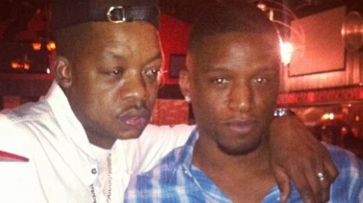 Steve Francis Gives Himself Champagne Shower in Miami Club