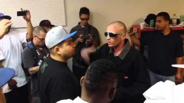 West Coast Rapper Cadalack Ron Shoots Heroin Mid Battle