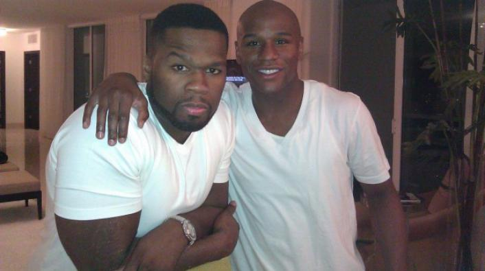 Image: 50 Cent Teases Mayweather on Literacy & Nelly Taking His Girls