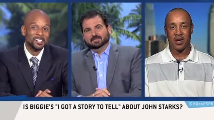 Image: NBA Icon John Starks: Biggie's 'I Got A Story To Tell' Was Real