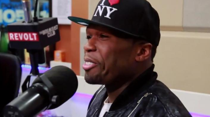 Image: 50 Cent on Chris Brown's Baby News: I Call That a Stick Up