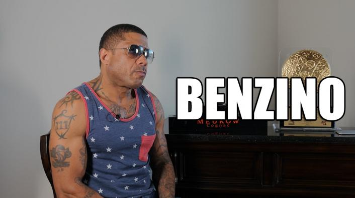 exclusive benzino on getting shot by his nephew but not
