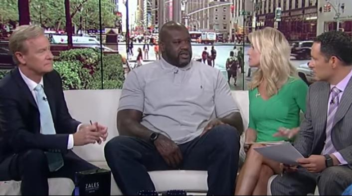 Image result for shaq on fox and friends