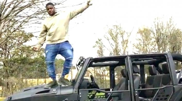 Blacked Out Jeep >> Blac Youngsta Shows Off His New Custom Blacked-Out Jeep
