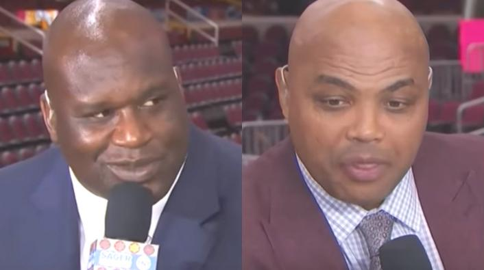 Image: Shaq Says He'll Punch Charles Barkley after Exchange Gets Heated