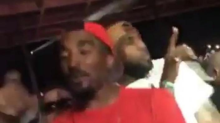 Image: LeBron and J.R. Smith Turn Up At the Future Concert