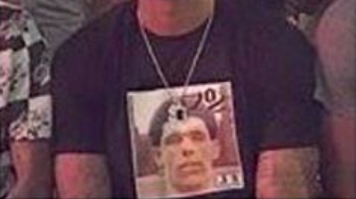 Lonzo Ball's Trainer Pictured Wearing a Shirt With Lonzo on a Nas Album Cover