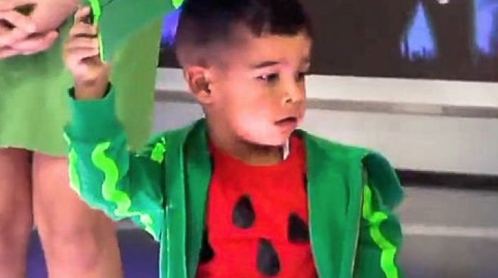Image: Black Child Dressed as Watermelon for Fox Morning Show Segment