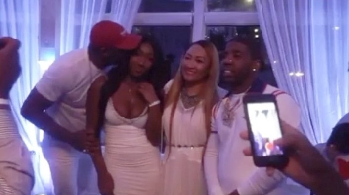 YFN Lucci Performs at Idris Elba's Daughter's Birthday Party