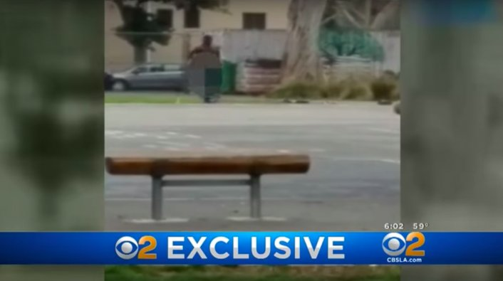 Teacher Strips Naked On Elementary School Playground