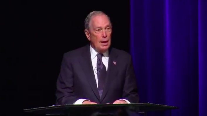 "Image: Michael Bloomberg Apologizes for ""Stop and Frisk"" Methods Used by NYPD"