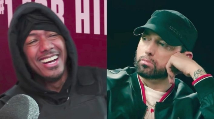 Nick Cannon Says Eminem S Lawyers Hit Him Up Over Gay Sex Tape Claims