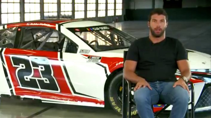 Michael Jordan's NASCAR Team Unveils Bubba Wallace's Race Car