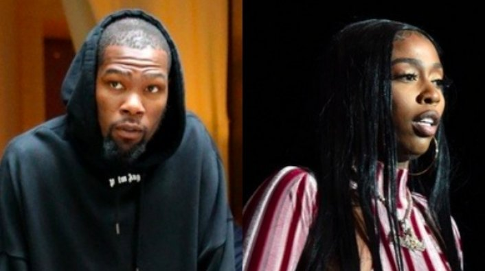 """Image: Kevin Durant and Kash Doll Go Back and Forth Over """"KD"""" Nickname"""