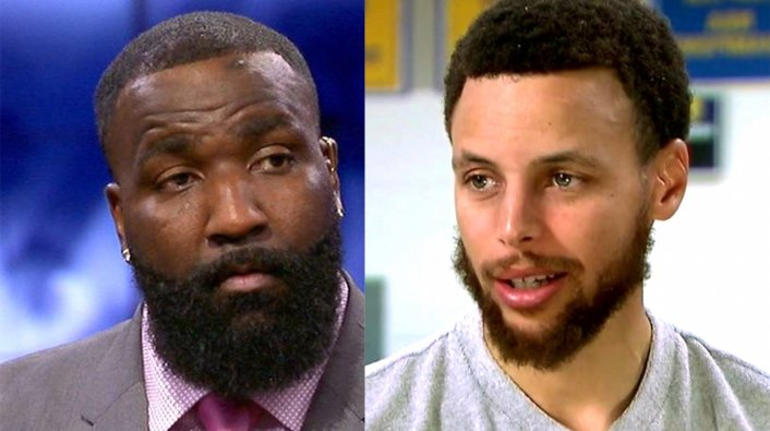 Image: Kendrick Perkins Apologizes to Steph Curry Following Record-Breaking Game