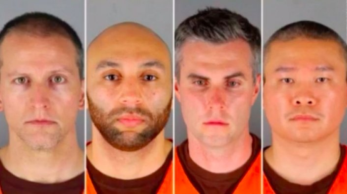 4 police officers indicted on federal civil rights charges — George Floyd case
