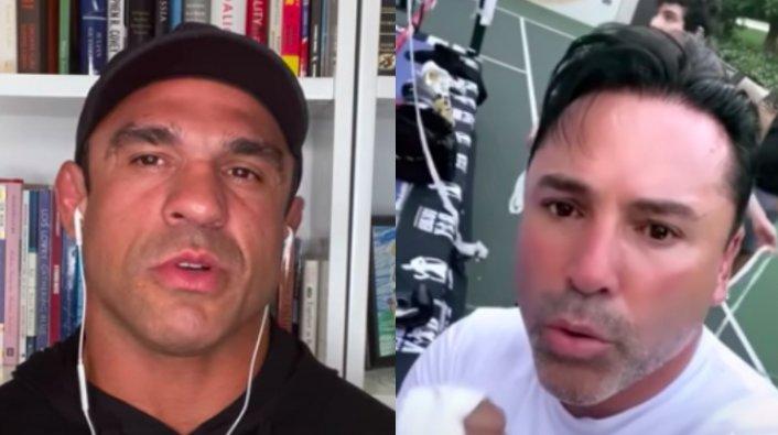 Image: Oscar De La Hoya to Fight Former UFC Champ Vitor Belfort on Sept. 11