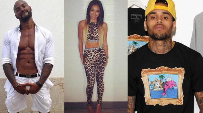 Image: Tyson Responds to Chris Brown's Rant Over Karrueche: Come Thru