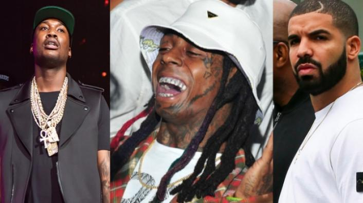 Image: Lil Wayne Shows Allegiance To Drake By Ad-Libbing Back To Back
