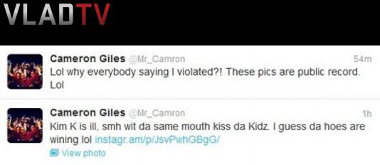 "Image: Shots Thrown @ Kanye? Cam'Ron Calls Kim K A ""Hoe"" On Twitter Image #2"