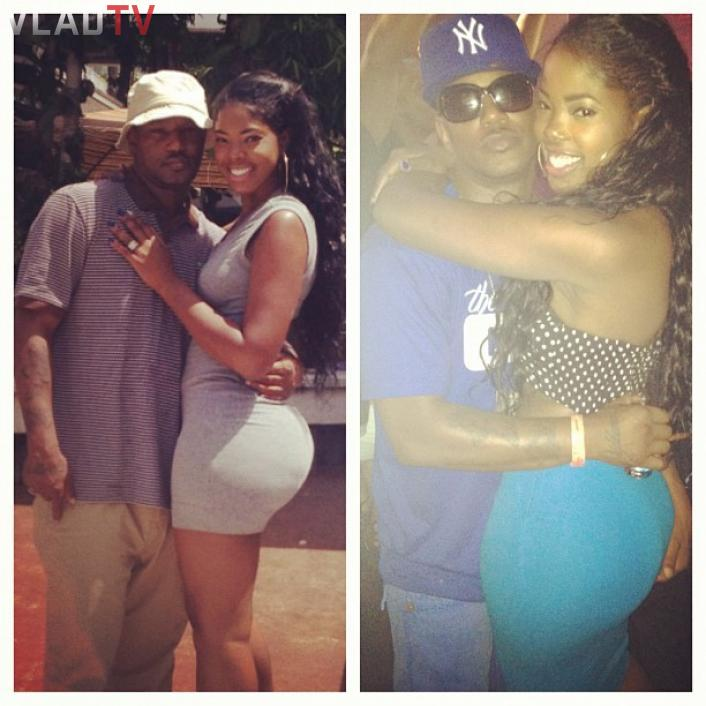 Image: Cam'ron Posts Pic Of Hot Girlfriend, But What is She Doing?! Image #4