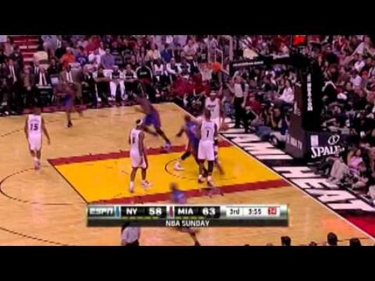 Image: Carmelo's Incredible Spin Move On Lebron