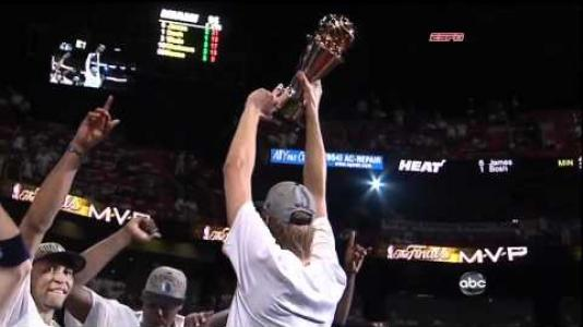 Image: 48. 2011 NBA Finals Game 6 - Dirk Cools Down the Heat