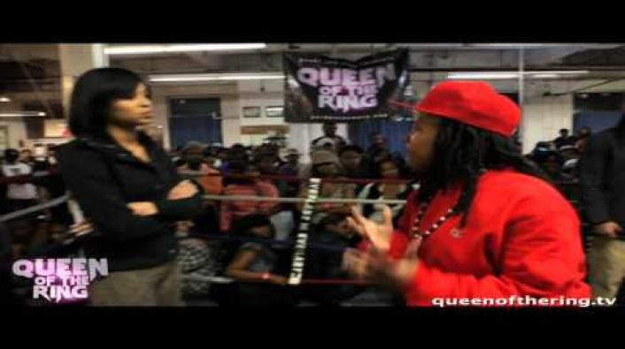 "Image: Queen Of The Ring ""W.T.T."" Battle: Precyse vs Lexx Banko"