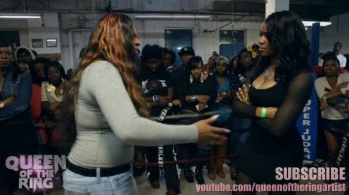 "Image: Queen Of The Ring ""Panic Room"" Battle: Bonnie Godiva vs Streamz"