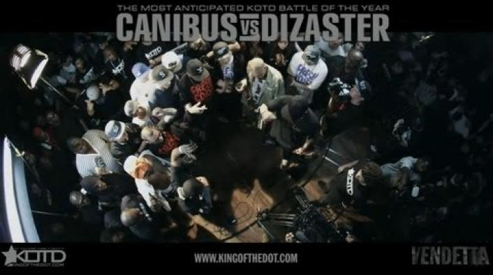 Image: KOTD Rap Battles: Dizaster vs Canibus