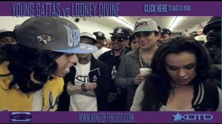 Image: KOTD Rap Battle: Gattas vs Looney