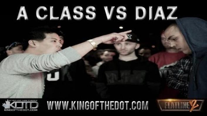 Image: KOTD Rap Battle: A-Class vs Diaz