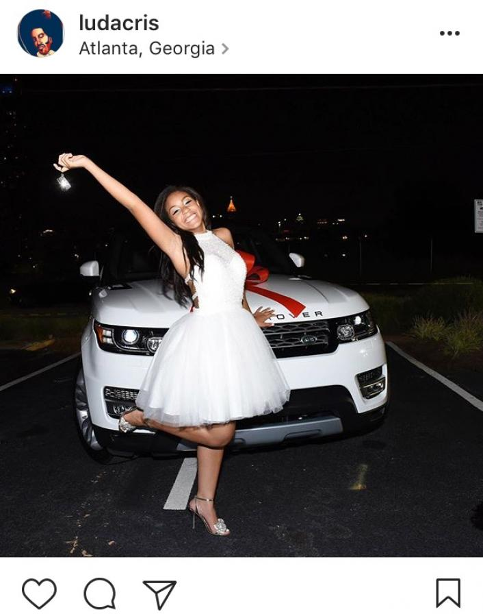 Image: Ludacris Gifts His Daughter a Range Rover for Her 16th Birthday Image #2