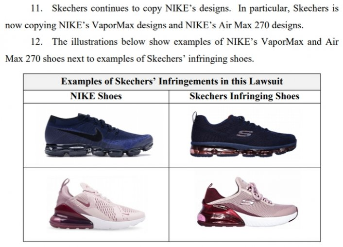 Image: NIke Sues Skechers For Reportedly Stealing Air Max Designs Image #2
