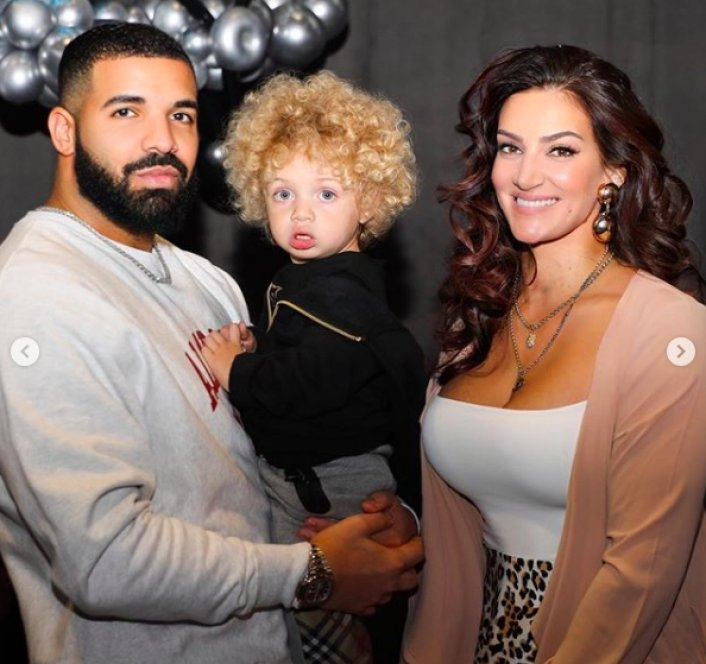 Image: Drake Shares Photos of His Son Adonis for The First Time Image #3
