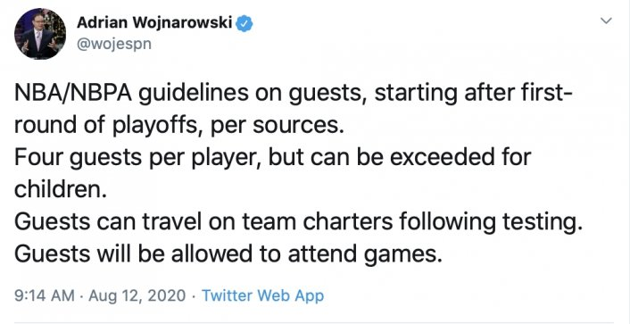 NBA Implements No Instagram Model Rule for Orlando Bubble