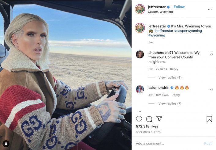 Jeffree Star posts video addressing rumors that he cheated with Kanye West