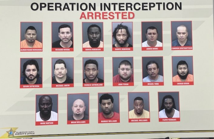 Image: 71 Arrested In Tampa Human Trafficking Sting Ahead of Super Bowl LV Image #2