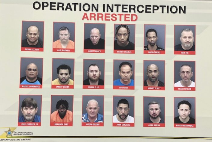 Image: 71 Arrested In Tampa Human Trafficking Sting Ahead of Super Bowl LV Image #3