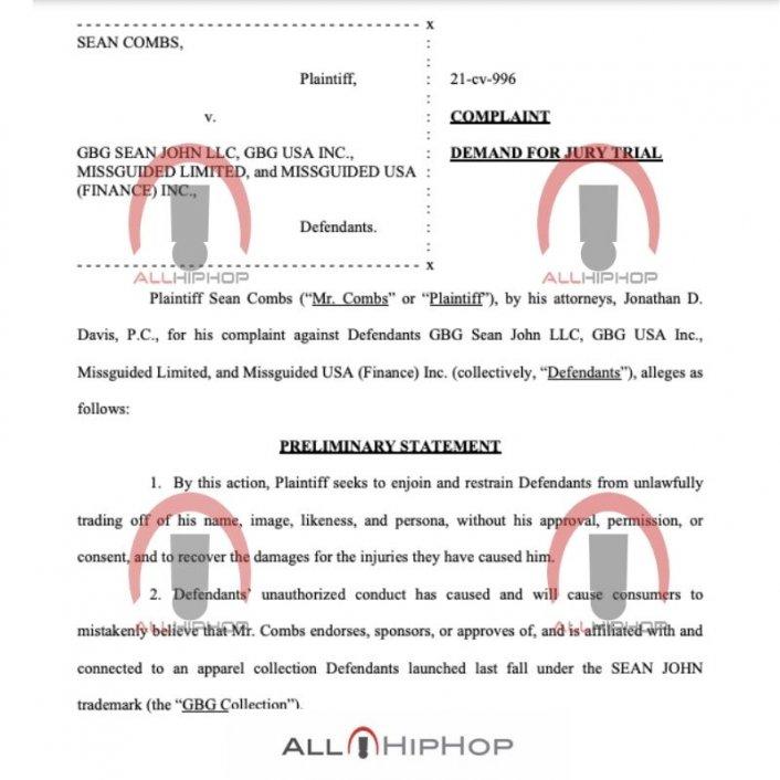 Image: Update: Diddy Files New $60M Lawsuit Against Sean John Over 'Vote Or Die' Image #4