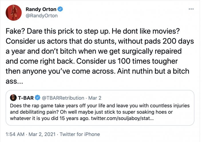 Image: Update: Soulja Boy Responds to Randy Orton, Clowns His Net Worth Image #2