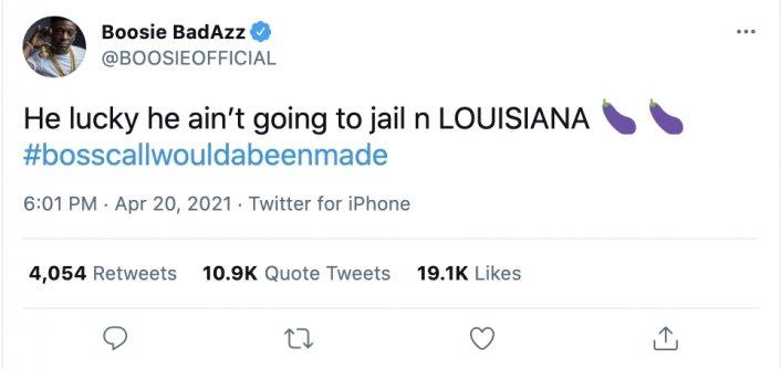 Image: Boosie Implies Derek Chauvin Would've Been Violated in Louisiana Prison Image #2
