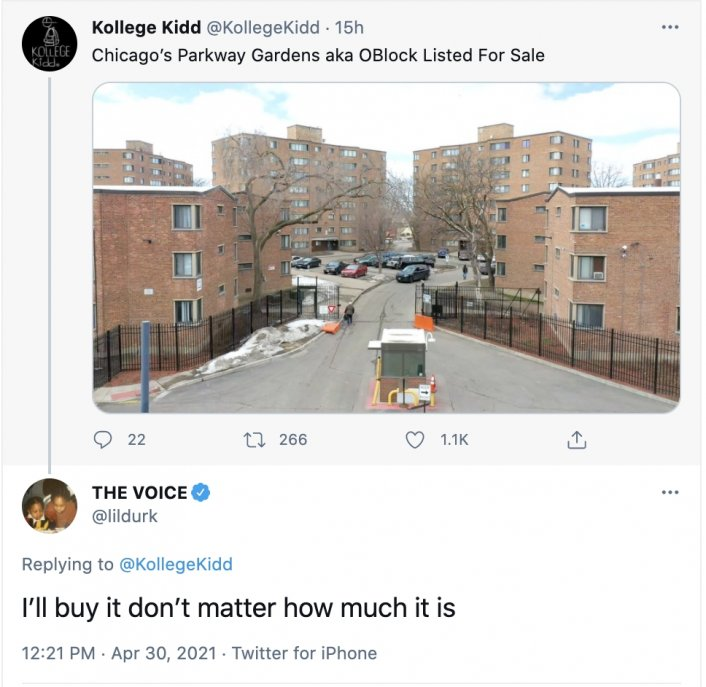Image: Update: Lil Durk Shows Interest in Buying Chicago's O-Block Image #2