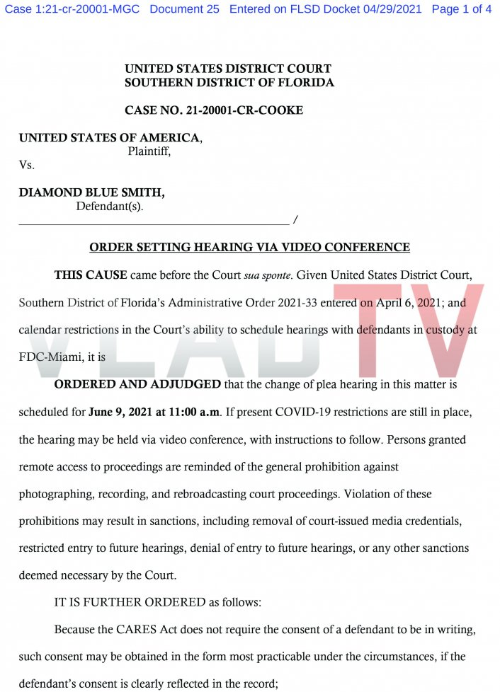 Image: Pretty Ricky's Baby Blue Set to Plead Guilty in COVID Relief Fraud Case Image #2