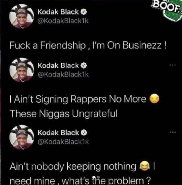 Image: Kodak Black & Jackboy Send Subliminals Over Apparent Business Dispute Image #2