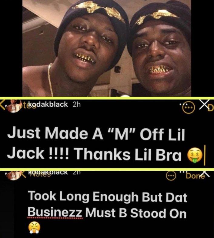 Image: Update: Jackboy Addresses Kodak Black Situation- That's My Brother for Life Image #4