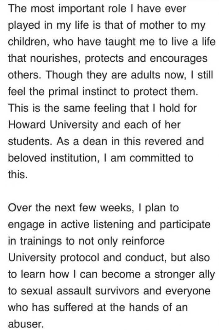 Image: Phylicia Rashad Apologizes to Howard Students for Bill Cosby Support Tweet Image #4